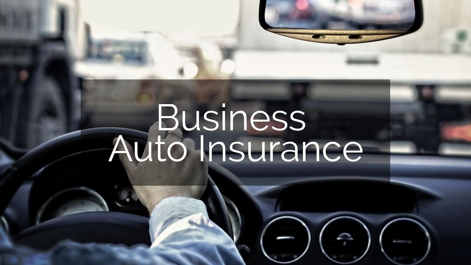 business insurance for car