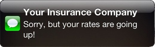 car insurance rates keep going up